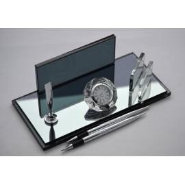 Aynalı Kristal Masa İsimliği 0011