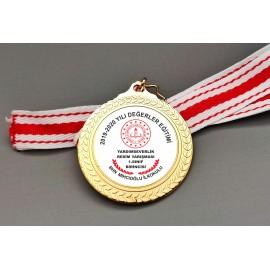 Değerler Eğitimi Madalya Ücretsiz Kargo