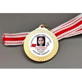 İstiklal Marşını Ezbere Okuyorum Madalya Ücretsiz Kargo