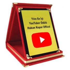 Youtube Plaket (ÜCRETSİZ KARGO)