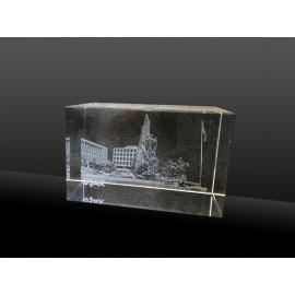 2d Kristal Uşak Heykel